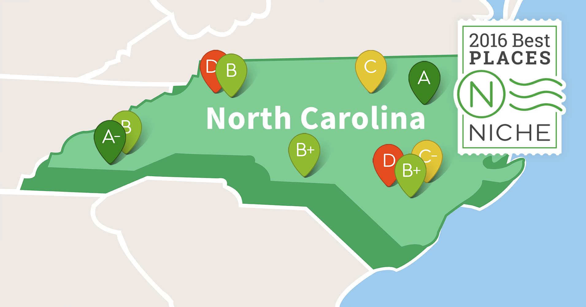 2016 Best Suburbs To Live In North Carolina Niche