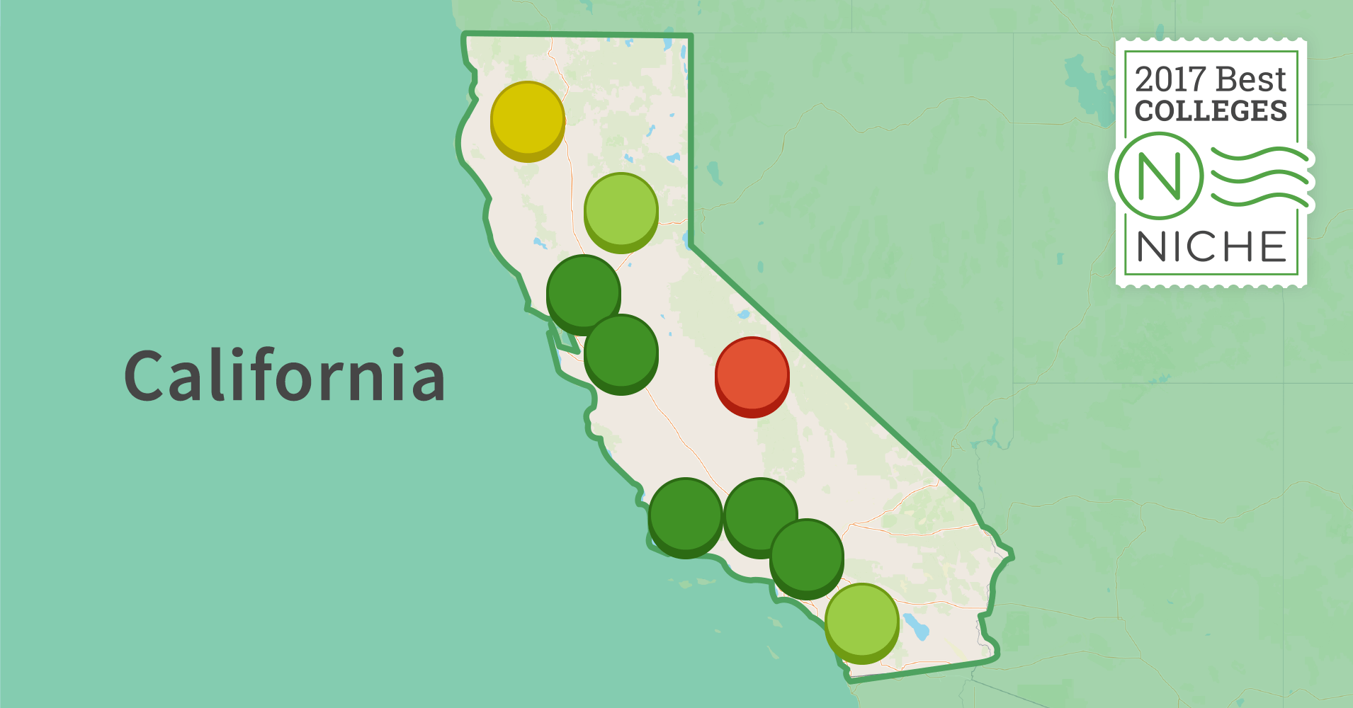 hardest colleges to get into in california niche