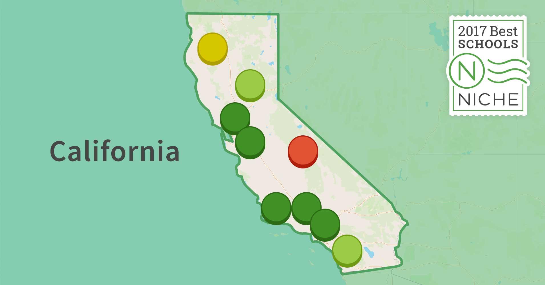 2017 best school districts in california niche
