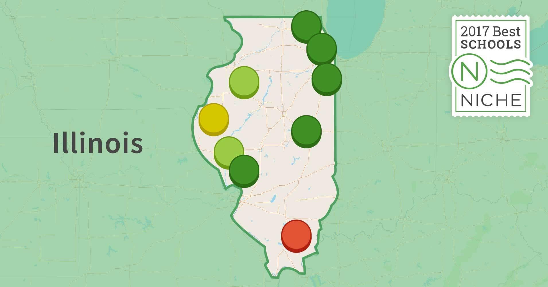2017 Best School Districts In Illinois Niche