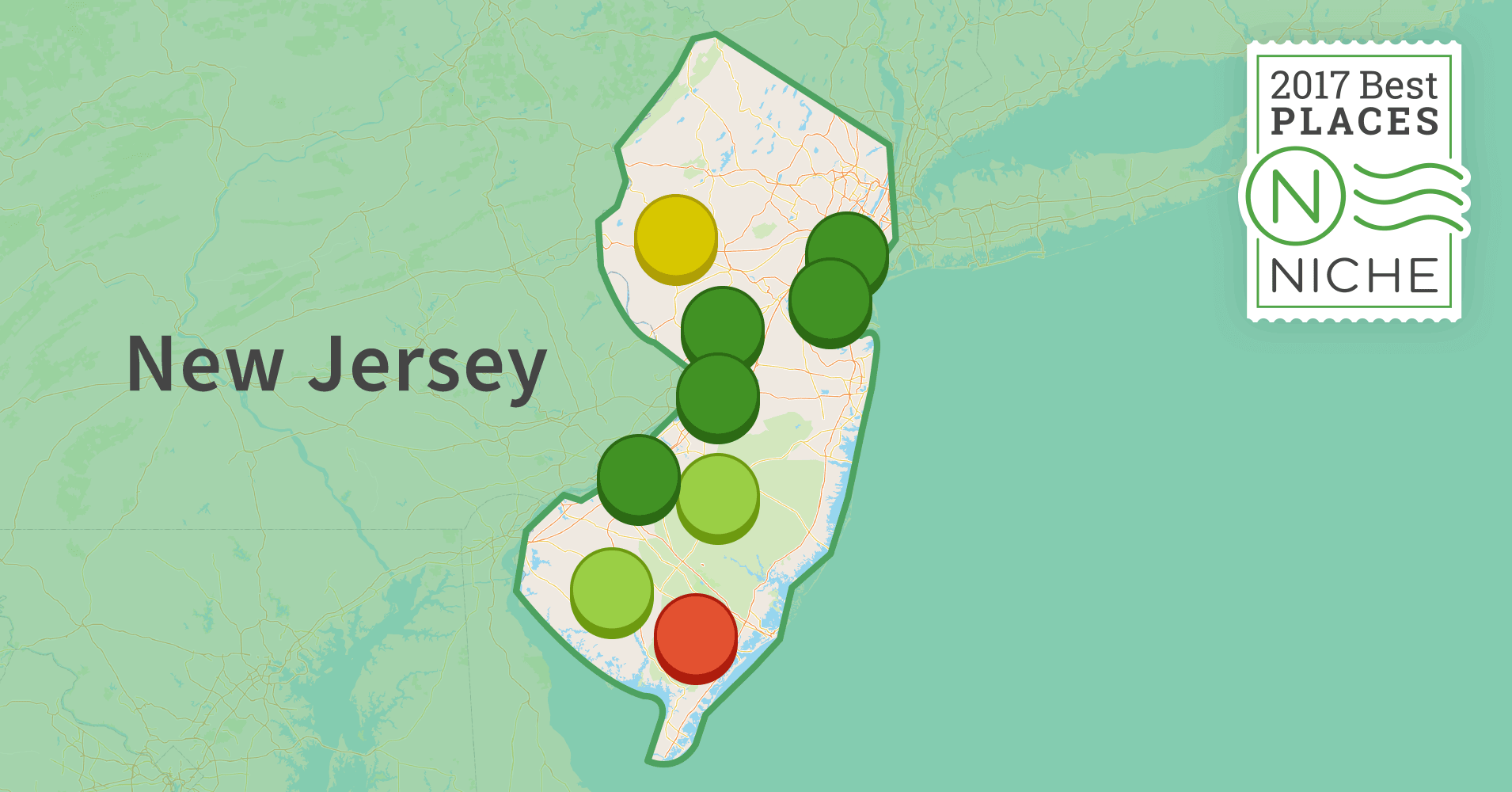 2017 Best Places to Live in New Jersey Niche