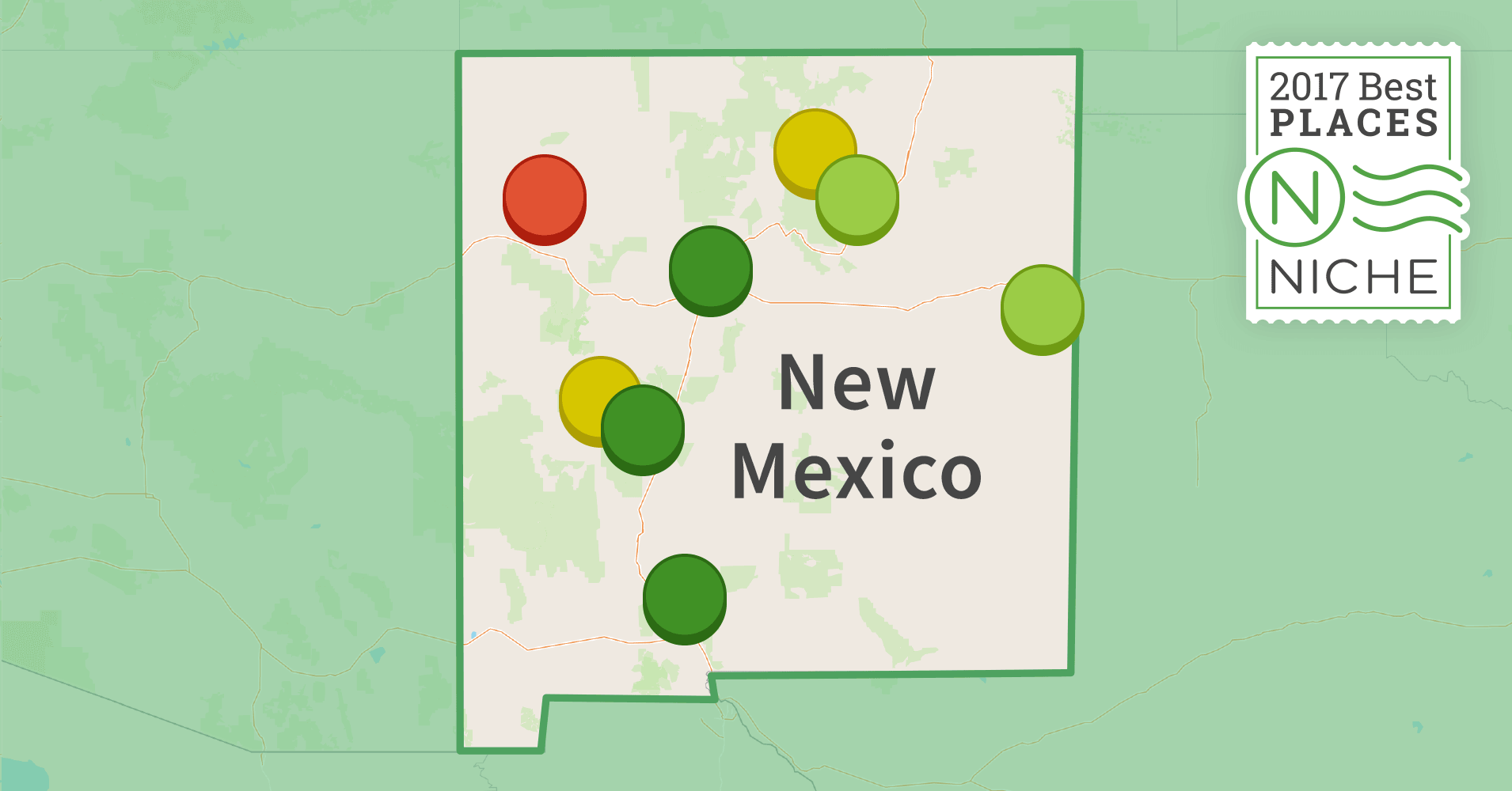 2017 best places to live in new mexico niche for Top us cities to live in 2017