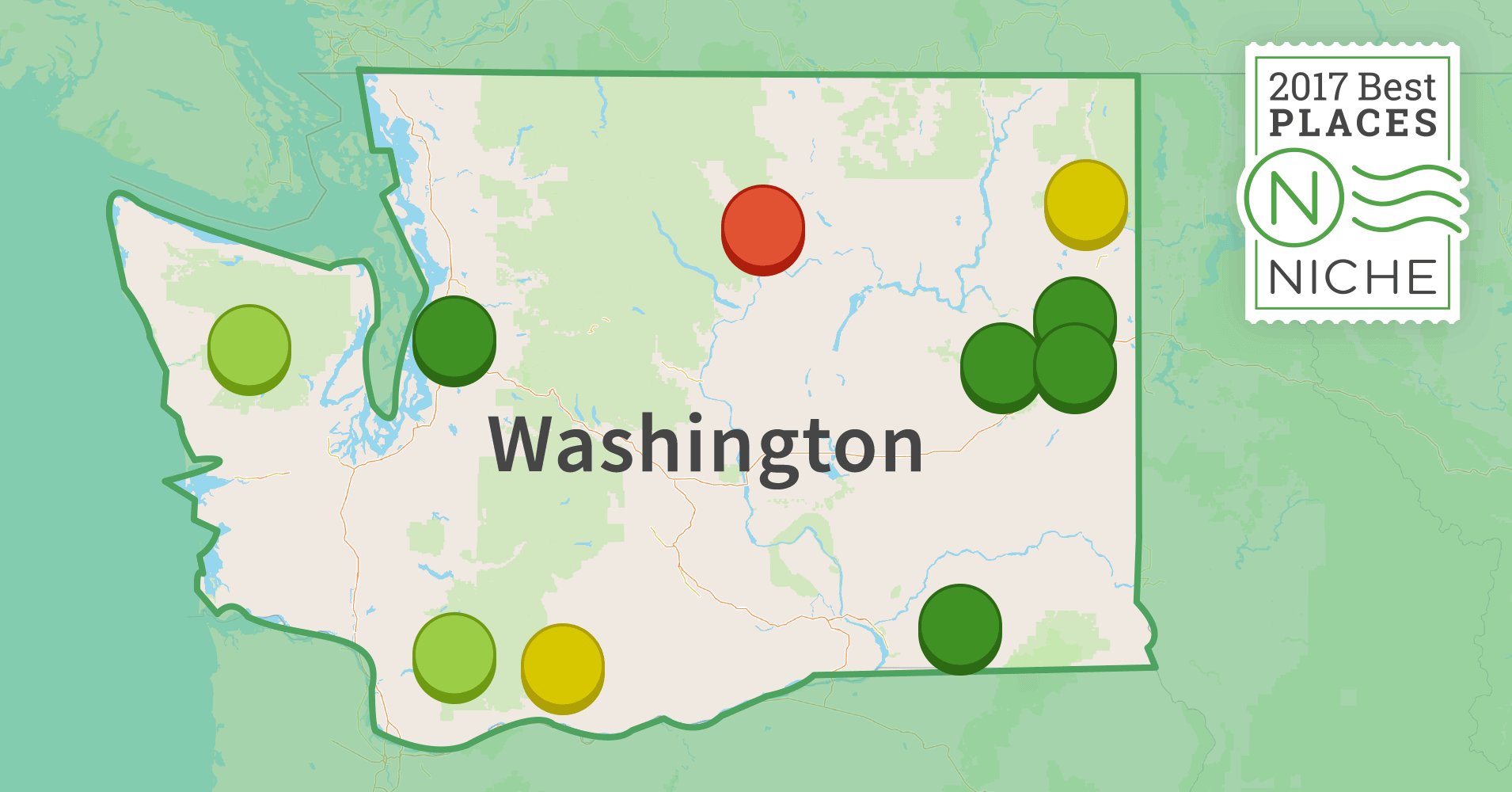 2017 Best Places to Live in Washington Niche